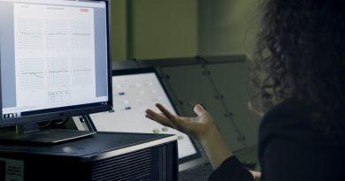 Un ordinateur de bureau